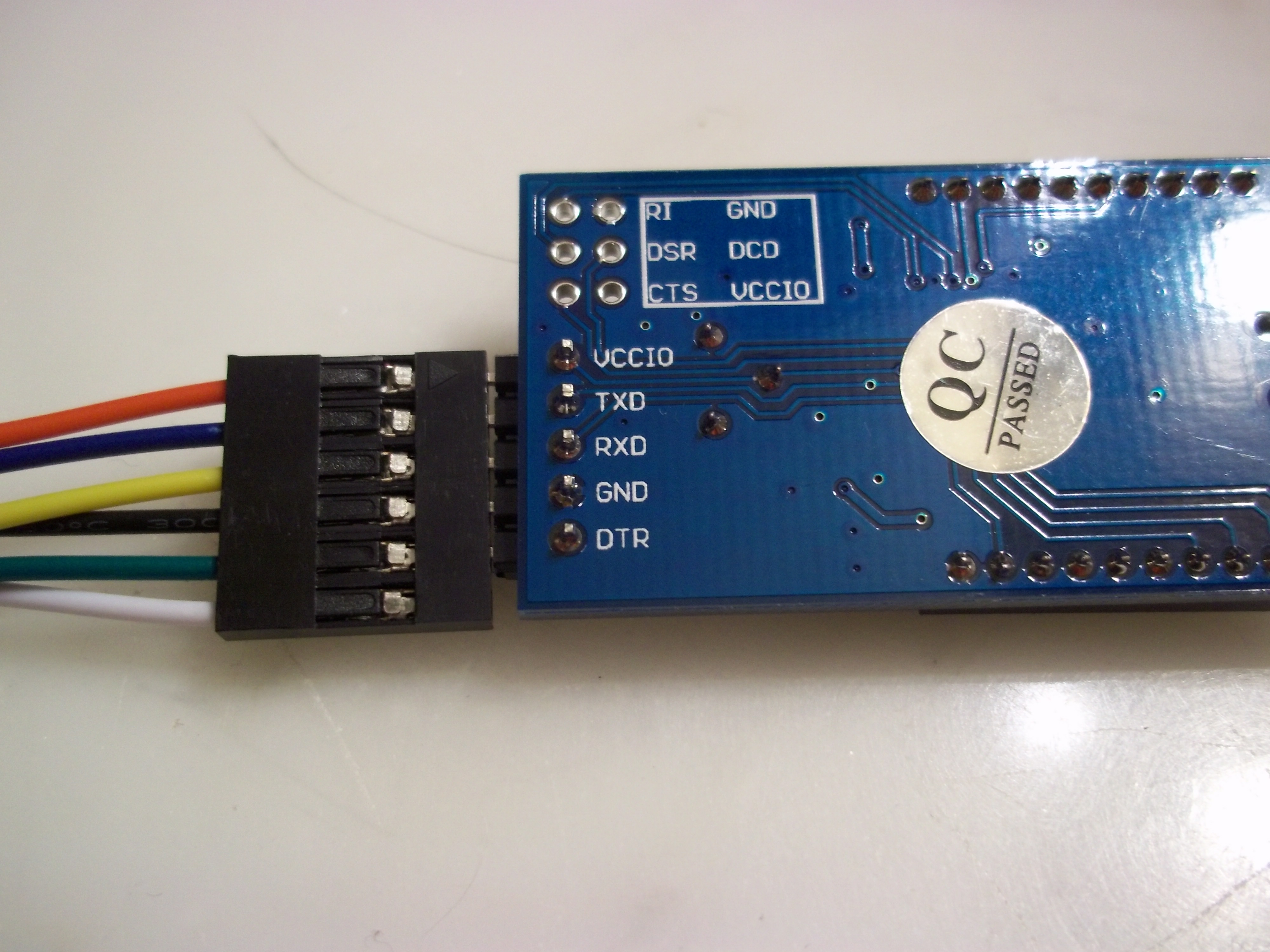 Ftdi Programmer For The Arduino Pro On Cheaper Tech Spin Usb Serial Cable Wiring Diagram Foca Pinout